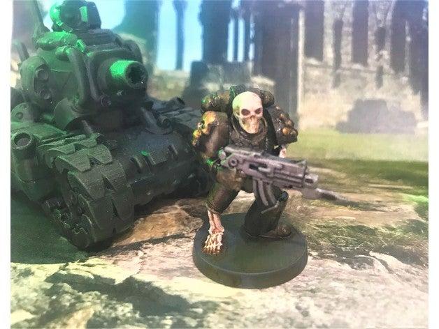 undead marine games 28mm