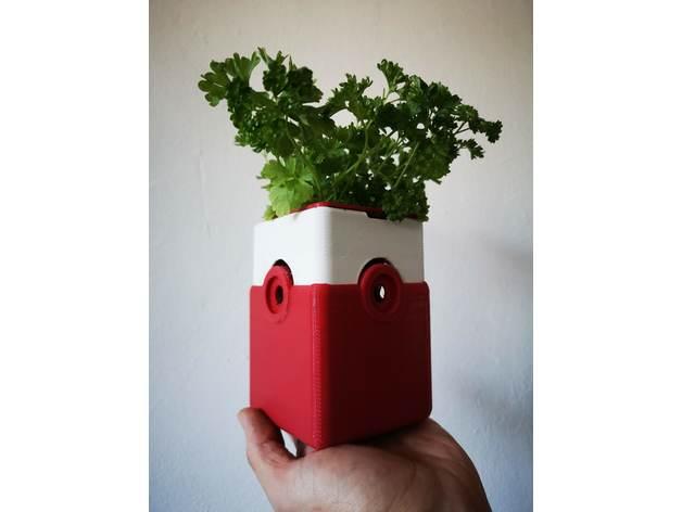 hydroponic planter system