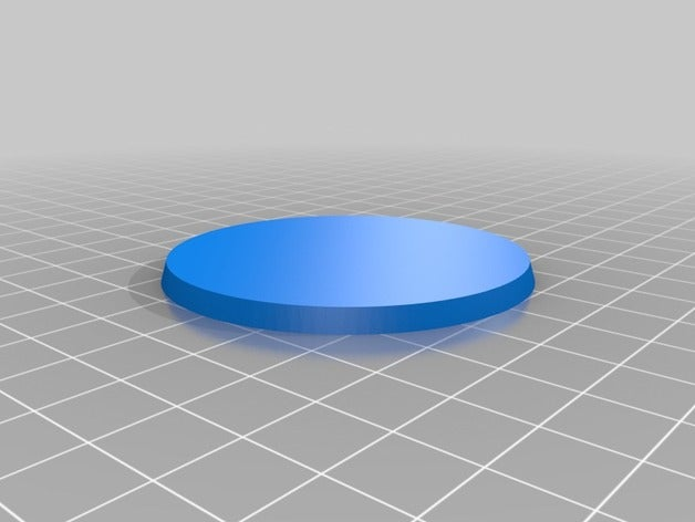tabletop base 60mm round
