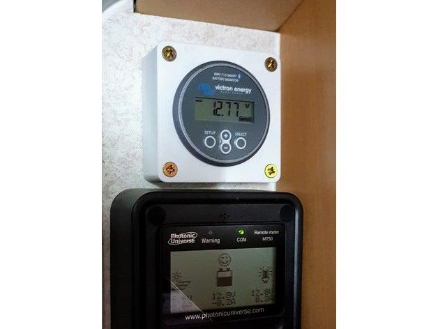 victron bmv mppt monitor