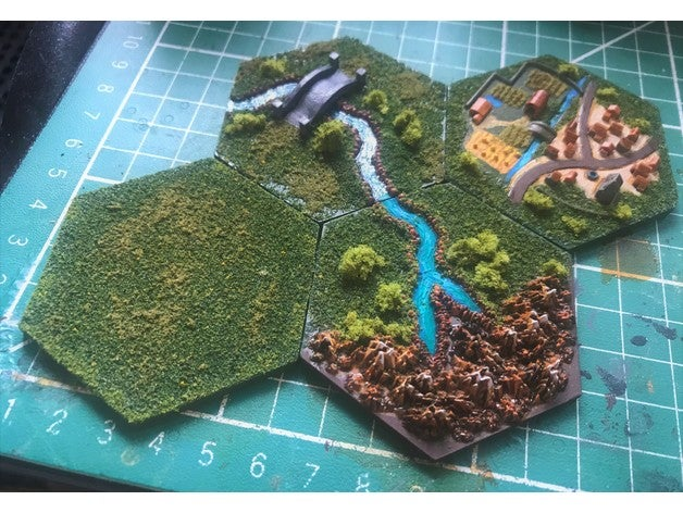 wargaming hex tiles might