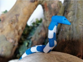 hareketli snake toys games animal articulated articulation clip clips forest infinity mount moveable movie poison reptile serpent snakes worm