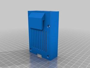 raspi case snappy 31 fits electronics box 3d printer accessories raspberry raspberry pi raspberry pi 3 raspberry pi case snapfit snappy reprap snappy v31