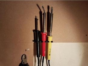soldering iron wall mounting 3x l&oumltkolben wandbefestigung 3x hobby lten soldering stand tool storage werkzeugordner