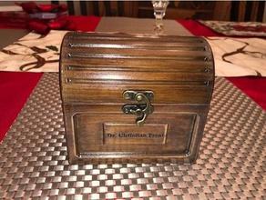 treasure chest gift box decor customized box hinged box jewelry box jewelry holder personalized box pinewood derby special storage box tea box wood box