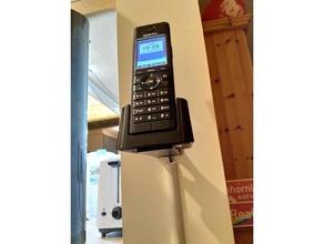 fritzfon c5 wallmount wandhalter mobile phone