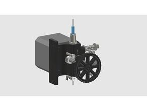 extrudle 3d printer parts compact extruder filament runout sens