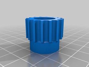 htd5 16teeth 14mm shaft 3d printer parts customized