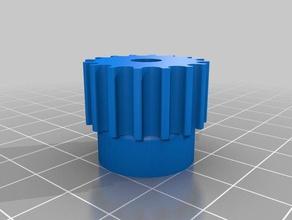 htd5 16teeth 62mm shaft 3d printer parts customized
