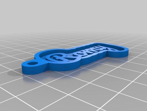 my customized key chain y