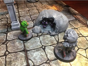 mined rock toy game accessories dnd dungeons dragons roleplaying rpg scatter terrain