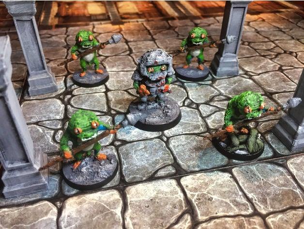 froggle knight warden toy