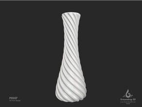 p2057 vase decor 3d print 3d printing greendrop3d