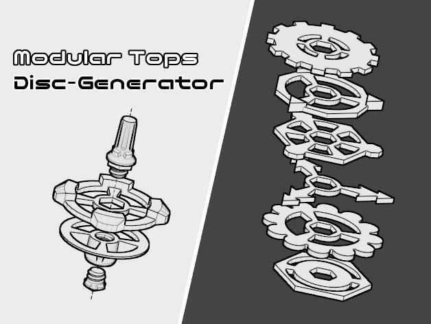 modular tops disc generat