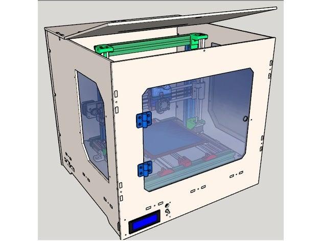 agraber 30i box 3d printe