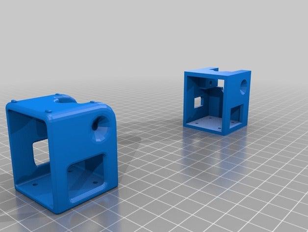 split mini cube adjustabl