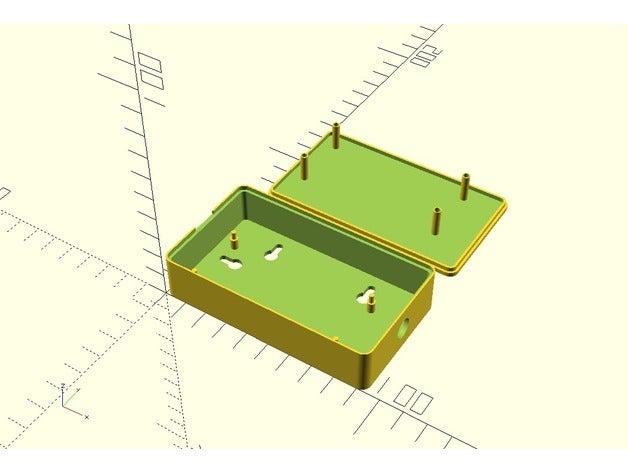 parametric project box 3d