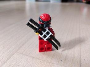lego ninjago schwerthalter spada titolare telecomandati