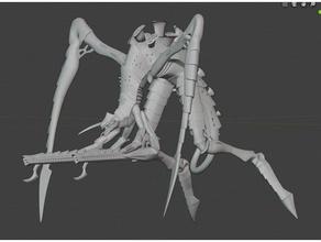tyranid hierophant bio-titan proxy other bio titan space bugs super wargamer tyranids warhamer warhamer 40k warhammer 40k