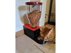 automatique chat chargeur les animaux de compagnie tarière automatique pet feeder la nourriture pour chat aliments pour animaux de compagnie