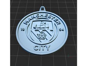 manchester city keyring keychains 3d keychain 3d keyring football football team logo logos manchester city badge manchester city fc man city
