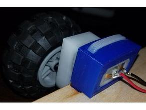 pololu gearmotor bracket hobby 306 ece embedded ncsu pololu motor mount pololu mount