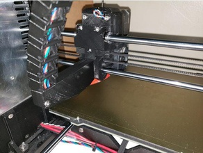 prusa i3 mk3s cable chain add-on axis cable holder 3d printer parts cable management prusai3mk3s