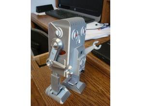 balance walking robot 3d printed type 1 mechanical toys balancing robot battery robot biped robot diy robot mechanical robot vintage robot