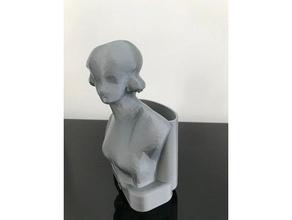 statue styl&eacutee sculptures art design pencil