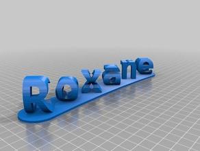 roxane cesar signs logos customized