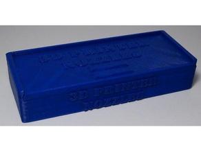 Stampante 3d box ugelli accessori 3dprinter accessori casella di ugelli portaugello ugelli di ricambio di archiviazione scatola di stoccaggio
