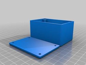 dj Stand des Projekts-box-Deckel-Schrauben 2 - Elektronik angepasst