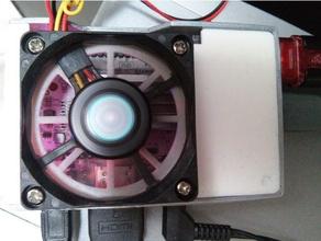 raspberry pi le potato case 50mm fan electronics raspberry pi 3 raspberry pi case sbc sbc case