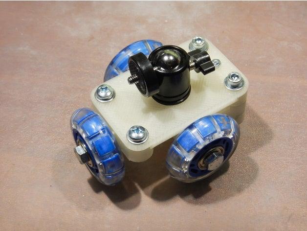 slider wheels camera