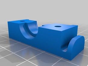 chiusura supporto estrusore v6 tronxy x5s 3d printer accessories
