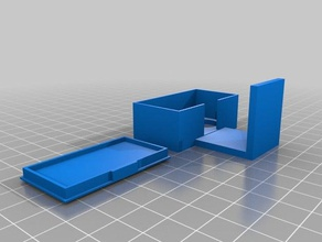 suporte sensor distancia 3d printing distance sensor distance sensor case enclosure distance