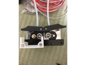 anet a8m extruder filament guide 3d printer parts