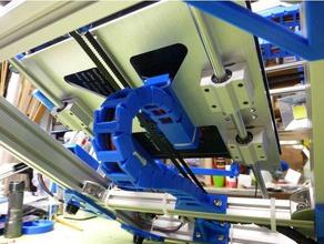 em8 gulfcoast robótica transporte underbed de cabo adaptador 3d a impressora partes