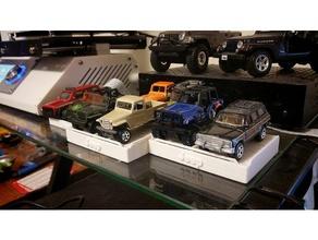 164 scale diecast Fahrzeug-display-block v2 hobby