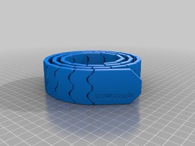 my customized belt print