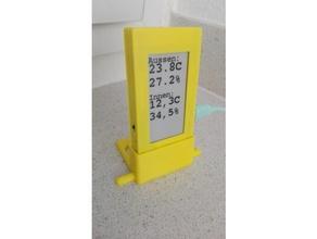 ttgo t5 e-Papier-display-Gehäuse stand gadgets display-Ständer epaper esp32 das Internet der Dinge smarthome wemos esp32