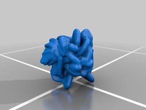 bat-footed bullfrog per la matematica art gioco houdini iperbolico realtà mista accatastamento voidbunnies