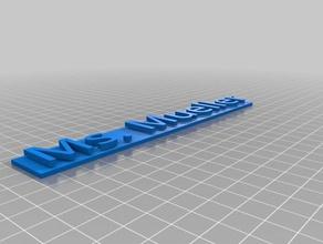 ms mueller 3d printing
