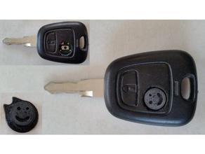 car key button remplacement 206 bouton button car cl clef key peugeot 206 remplacement replacement voiture