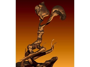 animales fantásticos universo bowtruckle las esculturas la criatura la estatuilla la diversión harrypotter de harry potter de la hoja planta