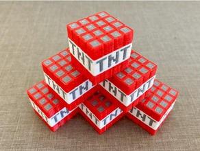 minecraft tnt multi-material toys games tnt block