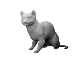 cat high detail sculpture animals art artistic bigcat cats character cute detailed fluffy furry kitten kitty sculpted