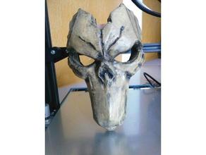 darksiders ii máscara 3d impressão darksiders 2 darksiders máscara da morte