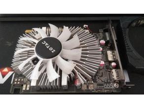 gpu fan repair gtx1050 zotac computer