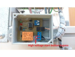 automatic turn-off relay timer box eagle files 3d printer accessories power off psu off psu relay relay case turn off